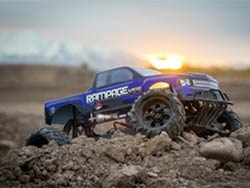 The gigantic Redcat Racing® Rampage MT is the monster truck of all monster trucks.