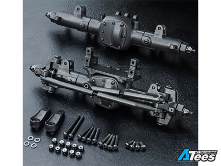 MST 1/10 CFX/CMX Front & Rear MSA Crawler Axle Set