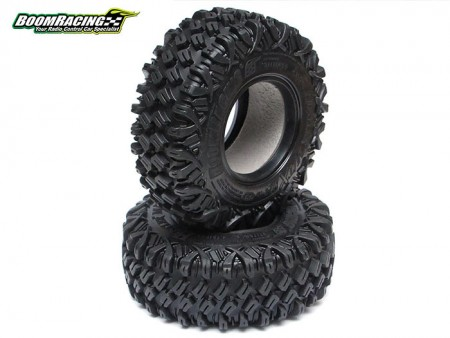 Boom Racing 1.9 HUSTLER M/TX 4.19 MC1 Crawler Tire w/ 2-Stage Foam