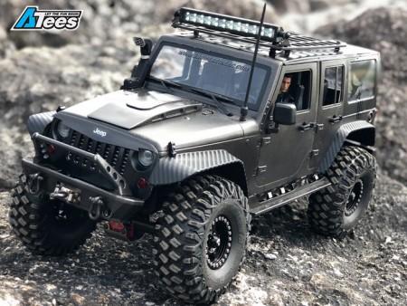 Boom Racing X KRONIK Wrangler PUNISHER JEEP Build