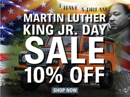 Martin Luther King Day SALE 2018