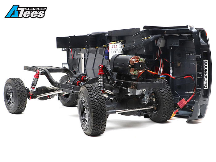 How To Build A Custom Scale Chassis For The Toyota Lc70 Asiateescom