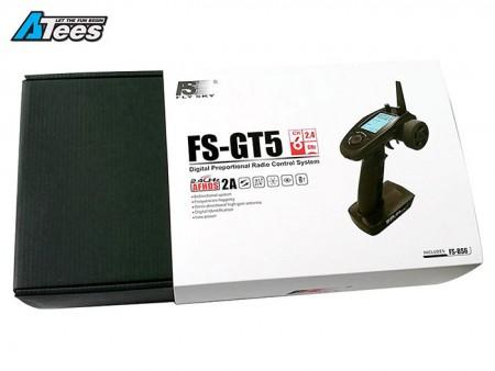 Fly Sky FS-GT5 6-Channel Radio Transmitter w/ FS-BS6 Receiver