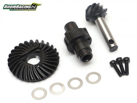 Boom Racing Overdrive AR44 HD Keyed 27/8T Helical Gear Set
