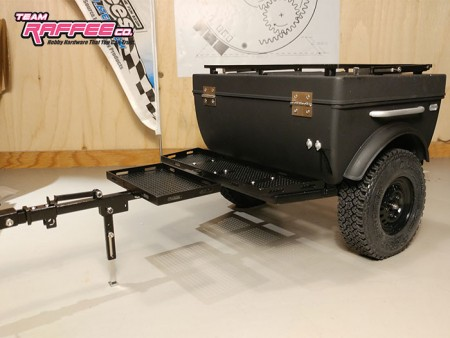 Building the Team Raffee Co. 1/10 Pop-Up Camper Trailer