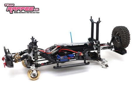Team Raffee Co. Releases Traxxas TRX4 Aluminum Shock Towers