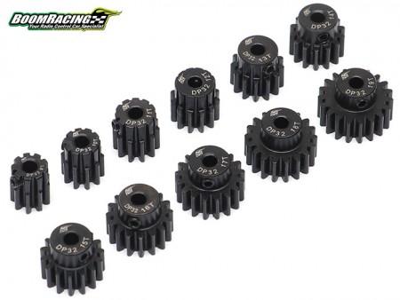 Boom Racing 32P Hardened Steel Pinion Gears Set