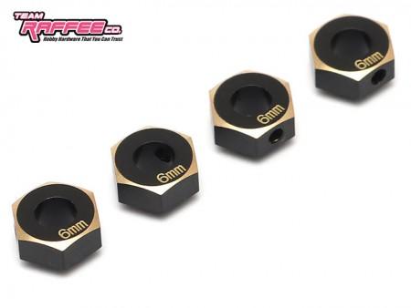 TRC 6mm Aluminum Hex Adaptors for Traxxas TRX4