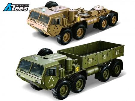All-New 1/12 8X8 M977 And M983 U.S. Military Trucks