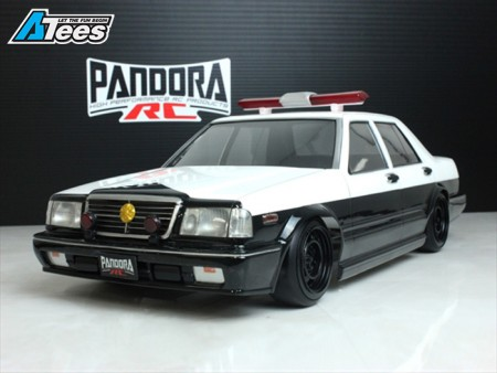 Pandora RC 1/10 Nissan Y31 Cedric Sedan Lexan Body [PAB-2190]