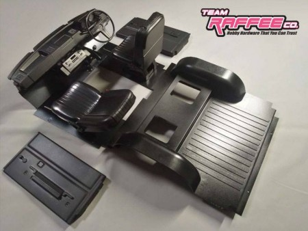 TRC 1/10 Interior for Rover SUV & Cherokee Hard Body