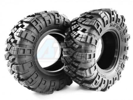 Traction Hobby 1/8 Mud Grappler 2.6 Inch Beadlock Tire Super Soft