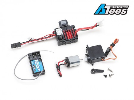 Hobby Plus 1/24 Electronic Performance Upgrade Set