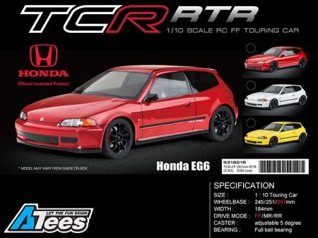 MST 1/10 Honda EG6 TCR-FF 257mm RTR Touring Car