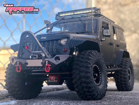 Team Raffee Co. Releases Rubicon Front Bumper With LED