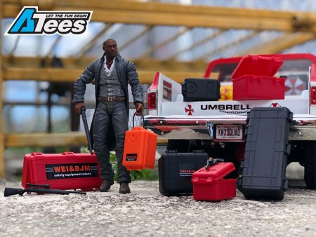 TRC Releases 1/10 Scale Safety Equipment Cases Hard Luggage