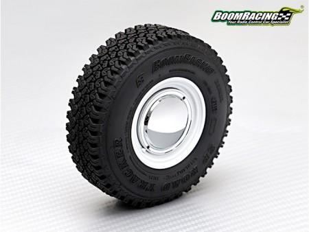 Boom Racing 1.55 Chrome Smoothie Classic Wheel Cap