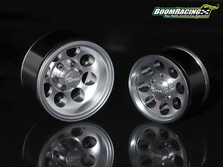 Boom Racing 1.9 Terra Classic 8-Hole Beadlock Wheels