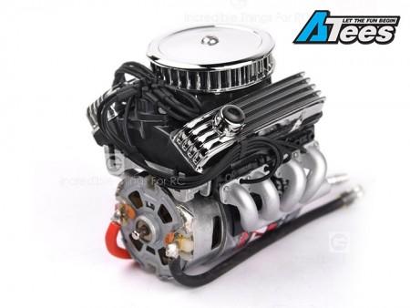 GRC 1/10 Scale Vintage V8 Engine For 540/550 Motors