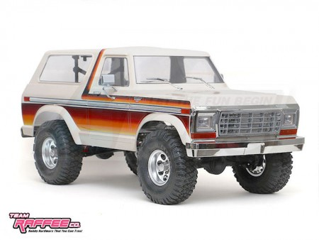 TRC 1/10 XLT Gen 2 Hard Body 313mm With Roof Rack