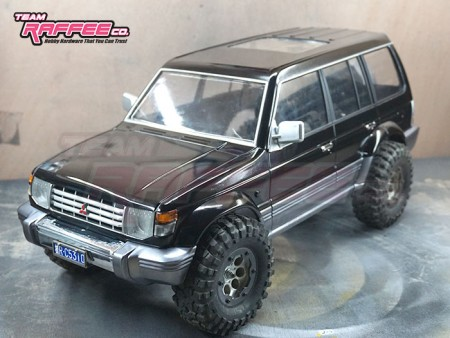 Team Raffee Co. 1/10 Pajero SUV 313mm (12.3 Inch) Hard Body Kit