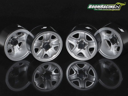 Boom Racing 1.9 S100 & S200 Steelie Reversible Beadlock Wheels