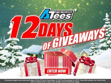 ATees Hobbies 12 Days of Giveaways