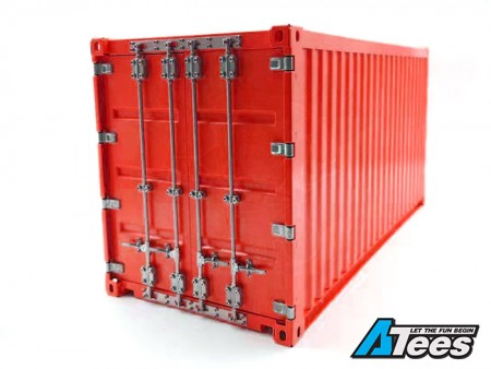 King Kong RC 1/14 Full Metal 20ft Container Red