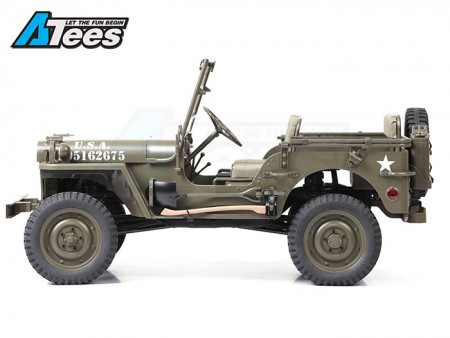 ROC Hobby 1/6 MB SCALER 4x4 US Army Truck RTR