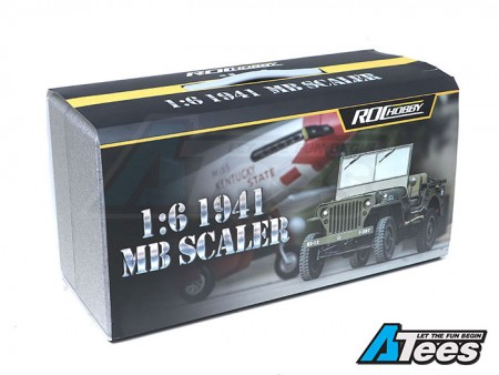 [VIDEO] Unboxing The ROC Hobby 1/6 MB SCALER 4x4 Military Truck