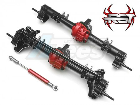 RGT Aluminum Portal Axles for 1/10 Crawlers