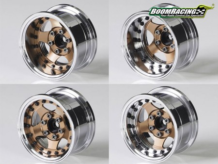 Boom Racing ProBuild Customizable Beadlock Wheels