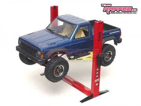 Team Raffee Co. 1/10 Alum Functional Two-Post Car Lift