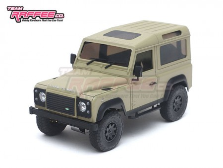 Team Raffee Co. Defender D90 Hard Body for Kyosho Mini-Z 4x4