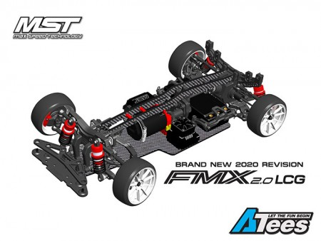 MST Releases 1/10 FMX 2.0 RWD Drift Kit (LCG) 2020 Revision