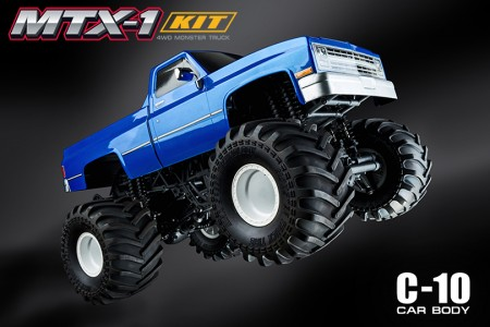 MST Releases 1/10 MTX-1 4WD Monster Truck Kit w/ C10 Body