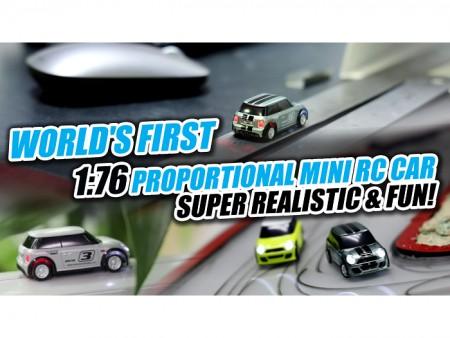 [VIDEO] Turbo Racing 1:76 Finger-Sized MINI RC Car