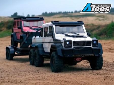 Traction Hobby 1/8 Brabus G63 6x6 Conversion Kit