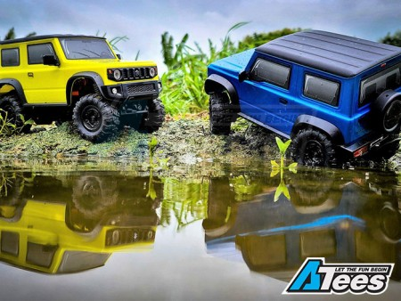 Carisma Scale Adventure 1/24 Ford F-150 And Jimny J4 Yellow Color