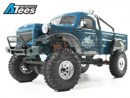 Hobby Plus 1/18 CR18 Rubicon And Wagon Pickup RTR Crawlers