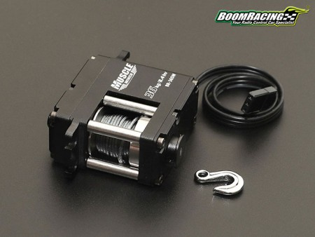 Boom Racing Muscle Winch With Free Spool Unit