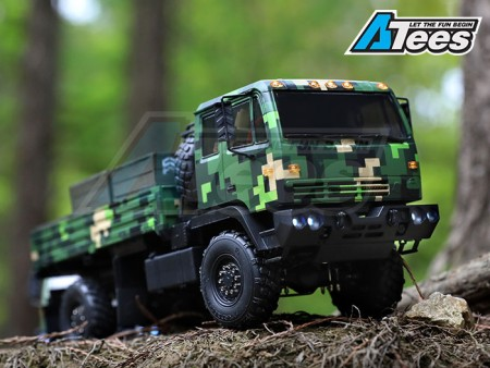 [VIDEO] Orlandoo 1/32 4WD Full Leaf Spring Tractor Truck Kit