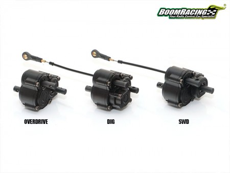 Boom Racing Releases 3 New Transfer Cases For BRX01