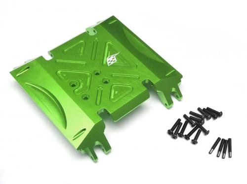 Axial Wraith Aluminum Skid Plate Green