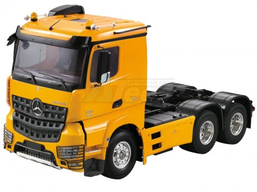 Hercules Hobby 1/14 Heavy Duty Tri-Axle Semi Trailer Truck (Body Shell only)