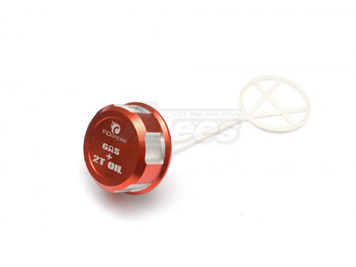 Team Losi 5IVE-T Shock Cap (Red Color) Red