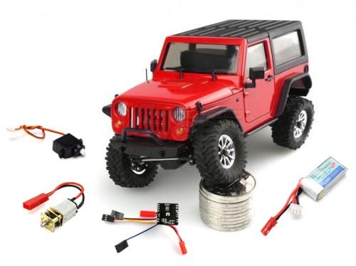 Orlandoo Hunter Model OL//TS0001 PCB//ESC//LED lights 1//35 F150 Hunter Jeep