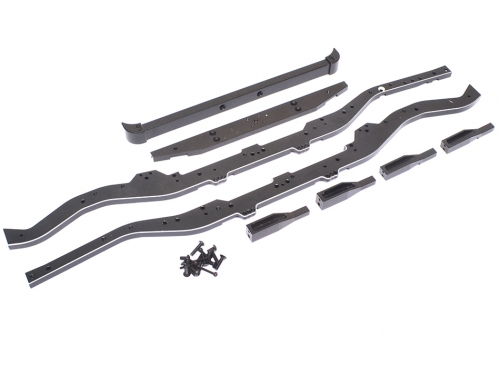 Team Raffee Co. TRC Defender D90 Extended Chassis Rail & Bumper Set ...