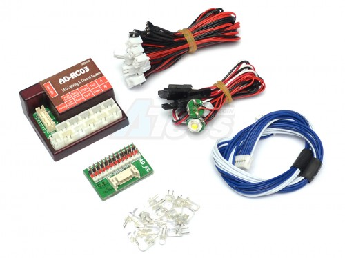 Ana-Digit Ltd AD-RC03 LED Lighting System 3-In-1 Module AD/AD-RC03