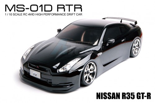 Mst Ms 01d 1 10 Scale 4wd Rtr Brushed Ep Drift Car 2 4g Nissan